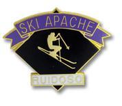 Ski Apache Black Diamond Ski Resort Pin