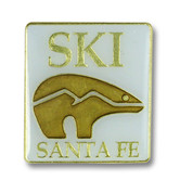Square Ski Santa Fe Ski Resort Pin