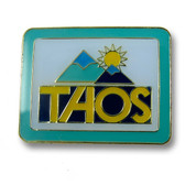Taos Mountains Ski Resort Pin