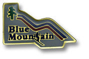 Blue Mountain Ski Resort Pin