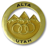 Alta Gold Ski Resort Pin
