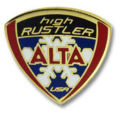 Alta Rustler Ski Resort Pin