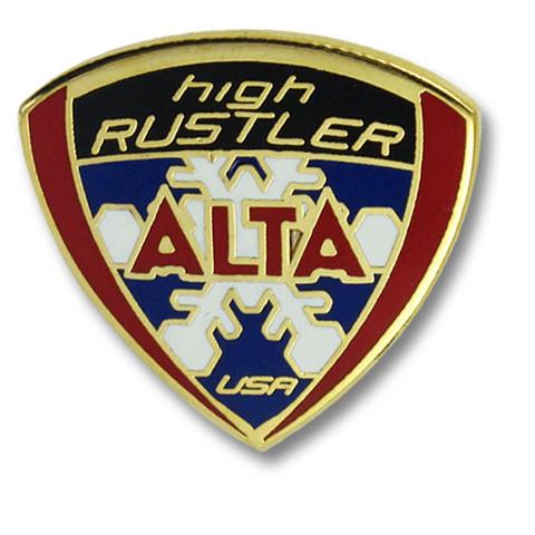 Alta Rustler Ski Resort Pin