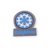 Brighton Ski Resort Blue Pin