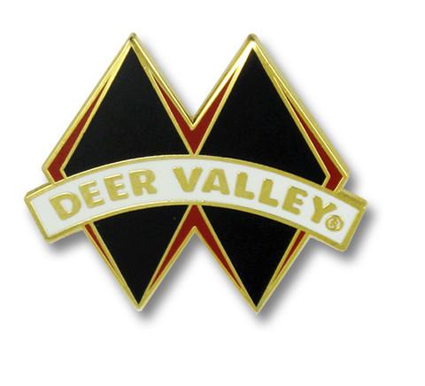 Deer Valley Black Diamond Ski Resort Pin