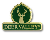 Deer Valley Logo Ski Resort Pin