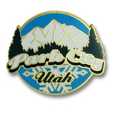 Park City Peak Ski Resort Pin