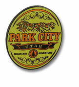 Park City Yellow Ski Resort Pin