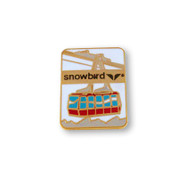 Gondola Snowbird Ski Resort Pin