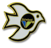 Snowbird Bird Ski Resort Pin