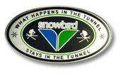 The Tunnel Snowbird Ski Resort Pin