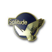 Solitude Logo Ski Resort Pin