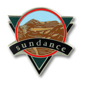 Sundance Triangle Utah Ski Resort Pin