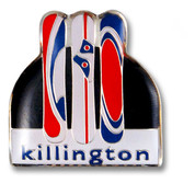 Killington Boards Ski Resort Pin