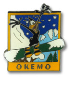 Okemo Duck Ski Resort Pin