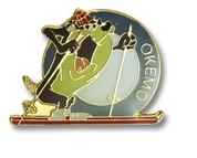 Okemo Taz Ski Resort Pin