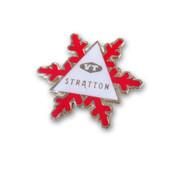 Stratton Snowflake Ski Resort Pin