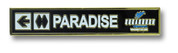 "Sugarbush ""Pradise"" Ski Resort Pin"