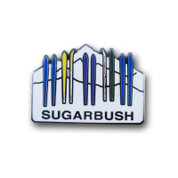 "Sugarbush ""Skis"" Ski Resort Pin"