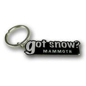 Mammoth Got Snow Keychain Front