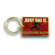 Arapahoe Basin Big Air Ski Resort Keychain Front