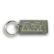 Breckenridge Mountain Range Ski Resort Keychain