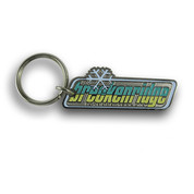 Breckenridge Rectangular Ski Resort Keychain #9