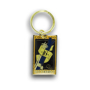 Breckenridge Skis and Poles Ski Resort Keychain Front