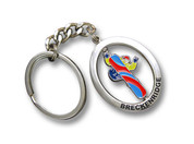 Breckenridge Spinner Ski Resort Keychain