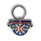 Keystone Flag Keychain Front