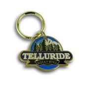 Telluride Mountain Keychain Front