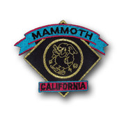 Mammoth Black Diamond Ski Resort Patch