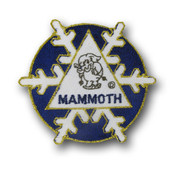 Mammoth Flake Ski Resort Patch