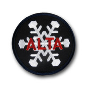 Alta Black & White Ski Patch