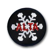 Alta Black & White Ski Patch