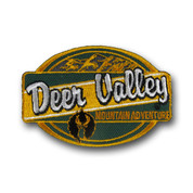Deer Valley Oval Ski Patch #1
