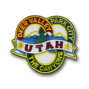 Utah Ski Resorts Patch