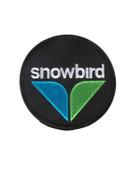 Logo Black Snowbird Ski Patch