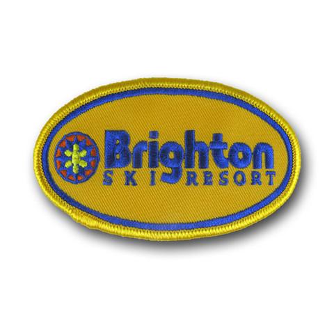 Brighton Yellow Ski Patch