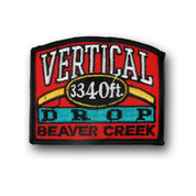 Beaver Creek Vertical Drop Ski Patch