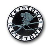 Keystone Airborne Skier Ski Resort Patch