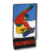 Snowmass Snowboard Patch