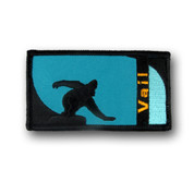 Vail Rectangular Snowboard Patch