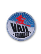 Vail Skier Patch