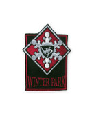Winter Park Gray Logo Ski Patch