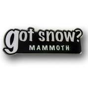 Mammoth Got Snow Ski Resort Magnet