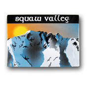 Squaw Valley Sun Ski Magnet