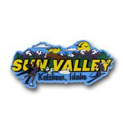 Sun Valley Ketchum Magnet