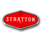 Stratton Logo Ski Resort Magnet