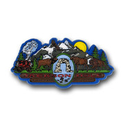 Jackson Hole Mountain View Magnet
